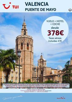 ¡Nuestra selección SMART a Valencia! Puente de Mayo Vuelo+Hotel+Coche. Precio final desde 378€ ultimo minuto - http://zocotours.com/nuestra-seleccion-smart-a-valencia-puente-de-mayo-vuelohotelcoche-precio-final-desde-378e-ultimo-minuto/