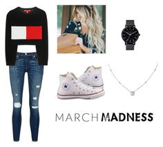 """""""Untitled #10"""" by mcquiggan ❤ liked on Polyvore featuring rag & bone/JEAN, Converse, Tommy Hilfiger, The Horse and Ice"""