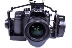 Gimbal for Sony NEX 5N series & Panasonic Lumix GH2 / GH3 / GH4 fully setup & ready to use