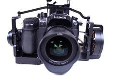 Gimbal for Sony NEX 5N series & Panasonic Lumix GH2 / GH3 / GH4 fully setup & ready to use