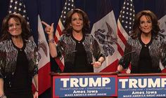 """Tina Fey is Back as Sarah Palin on """"Saturday Night Live,"""" America Feels Great Again"""
