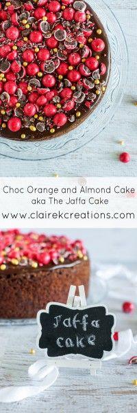 Choc orange and almond aka Jaffa cake via www.clairekcreations.com #chocolate #clairekcreates #dessert