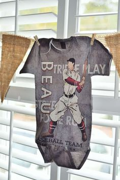 Vintage Baseball Baby Shower Party Ideas | Photo 11 of 20 | Catch My Party