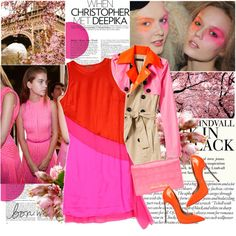 Wow! This pink is bright!, created by bklana.polyvore.com