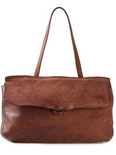 Guidi Distressed Leather Shoulder Bag - Layers - Farfetch.com