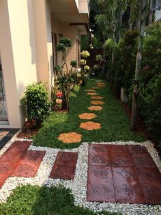 Small backyard landscaping - 38 best and simple front yard landscaping ideas 25 Backyard Garden Design, Small Garden Design, Yard Design, Backyard Ideas, Porch Ideas, Small Garden Landscape, Landscape Design, Landscape Plans, Side Yard Landscaping