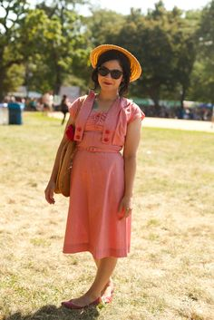 Vanessa #streetstyle #fashion #chicago #vintage #style #summer