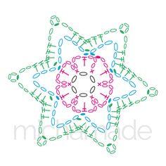 Crochet Snowflake Pattern, Crochet Leaves, Crochet Stars, Crochet Circles, Crochet Snowflakes, Crochet Mandala, Thread Crochet, Crochet Motif, Crochet Flowers
