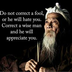 Do not correct a fool... - Blooper News
