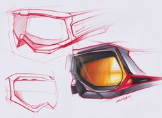 Product Design Sketch by Zion Hsieh, via Behance.