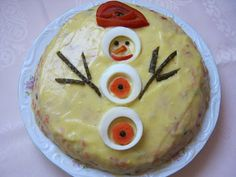 Food Decoration, Camembert Cheese, Breakfast, Cake, Desserts, Casual, Savoury Cake, Salads, Recipes For Children