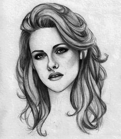 Perfect Drawing of Kristen Stewart