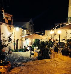 One of street restaurants,Castellamare del Golfo,Sicily