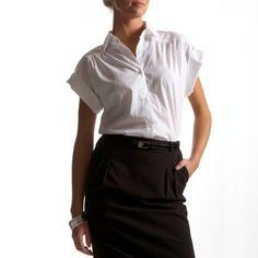 camista manga corta mujer