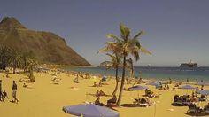 Webcam Playa De Las Teresitas - Tenerife - Spanien Live Cam