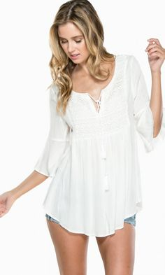 love this summery blouse