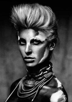 Hair: Lisa Muscat | Photos: Paul | Makeup Victoria Baron