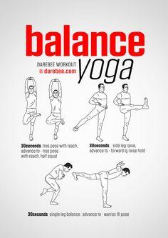 Balance Yoga Workout