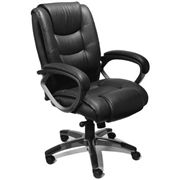 Shop and Get 15% Off #Mayline Series 500 #Leather Executive Chair - #Compare #Prices to Save More
