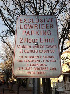 Lowrider....