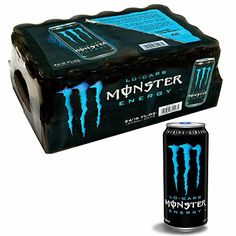 Monster Low Carb Energy Drink 24 oz pack of 2 ** Details can be found by clicking on the image. (This is an affiliate link) Monster Low Carb, Monster Energy Girls, Monster Punch, Bebidas Energéticas Monster, Bug Out Gear, Bottle Packaging, Brand Me, Fun Drinks, Red Bull