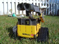 Picture of Build an autonomous Wall-E Robot http://www.instructables.com/id/Build-an-autonomous-Wall-E-Robot/