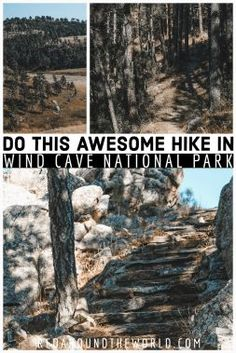 The Rankin Ridge Trail is one of the best hikes in Wind Cave National Park. Its a moderate hike with one of the best views from the highest point in the park. South Dakota Vacation, South Dakota Travel, National Parks Usa, Badlands National Park, Wind Cave, Custer State Park, Travel Usa, Travel Tips, Travel Destinations