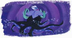 Ursula by Lorelay Bové. ¿Por qué nos gustan las películas de Disney?