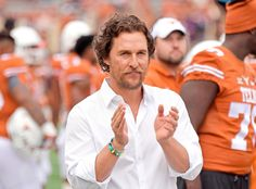 Matthew McConaughey from The Big Picture: Today's Hot Pics The Texas native cheers on TCU's football team at their home game. Espn College Football, Football Team, High Resolution Picture, Matthew Mcconaughey, Big Picture, Hottest Photos, News Today, Texas, Culture