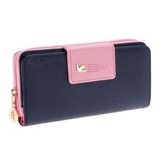 Cheap bag case, Buy Quality bag security directly from China bag drive Suppliers: Fashion Women Wallets Brand PU Leather Long Leather Women Clutch Bag Hasp Zipper Wallet Card Holders Clutch Money Bag Carteira Wallets For Women Leather, Leather Men, Vintage Leather, Leather Clutch Bags, Leather Purses, Leather Totes, Cute Wallets, Women's Wallets, Womens Purses