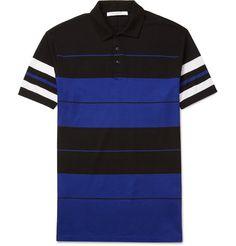 edaf5c397f8f GIVENCHY Cuban-Fit Striped Cotton-Piqué Polo Shirt.  givenchy  cloth
