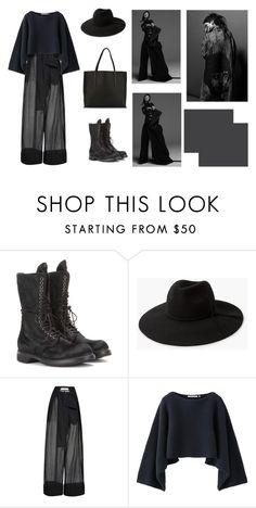 """""""jackpot"""" by cxtxb ❤ liked on Polyvore featuring Rick Owens, MANGO, Marni and Uniqlo"""