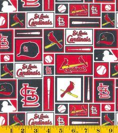 St. Louis Cardinals MLB Patch Cotton FabricSt. Louis Cardinals MLB Patch Cotton Fabric,