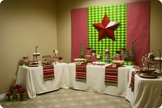 Whipperberry: Company Christmas Party {Dessert Table}