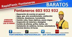 Fontaneros Provincia de Valencia  603 932 932