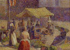 louis hayet | Autour de l'impressionnisme / Pointillisme / HAYET Louis / Louis HAYET ...