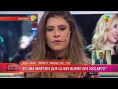 """En Córdoba niegan que Ulises sea violento y acusan a su ex de ser """"una g... Cordoba, Journaling, Singers"""