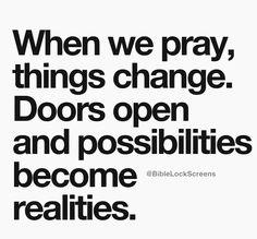 Pray saying