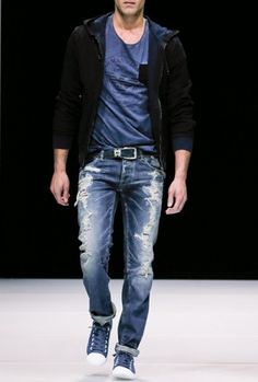 ZARA - UOMO - PANTALONI DENIM BASIC SKINNY | Men outfits ...