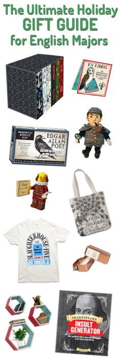 100+ Holiday Gift Ideas for English Majors