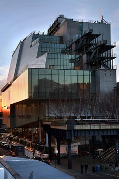Whitney Museum of American Art<br>Designed by Renzo Piano Building Workshop<br>Credits:Ed Lederman- Courtesy of The Whitney Museum of American Art