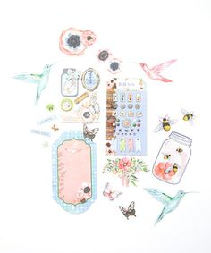 Love this Butterfly Kisses Layered Chipboard Set on #zulily! #zulilyfinds