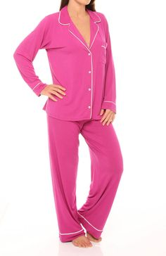 Eberjey Gisele PJ Set, $99, in every color!  These are THE softest PJs everrrrrrrrr.