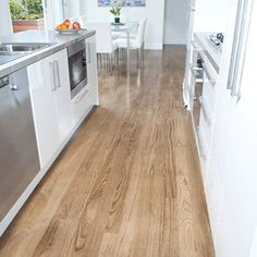 Australian Grown New England Oak In Classic Grade, 85mm X 19mm Boral Solid  Strip Timber Flooring, Stained With Bona U201ctrafficu201d In Jacobean.