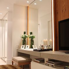 Regiane Proença - Designer de Interiores: Espelhos como utiliza-los