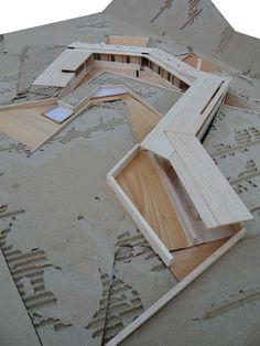 La enseñanza de la arquitectura sustentable: Seis proyectos en el Cajón del Maipo / RIO VOLCAN. BAÑOS COLINA BY CRISTOBAL GARCIA DE LA HUERTA