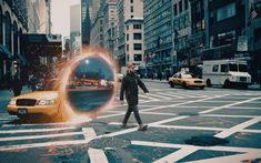 Witchcraft Spells For Beginners, Superpower, Doctor Strange, X Men, Event Planning, Portal, Gifs, Behance, Photoshop