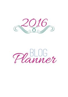 {Etsy Giveaway} 2016 Blog Planner Customised | Creative Pink Butterfly