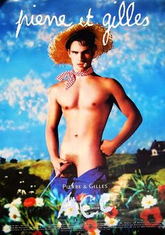 1996 (as reference) - Poster for the Exhibition at the Acc Galerie Weimar by Pierre et Gilles (Pierre Commoy -1950- and Gilles Blanchard - 1953-). Pierre et Gilles are French artists and romantic partners, They have been producing works together since 1976, creating the world where painting and photography meet.