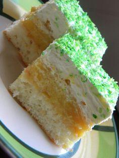Ananászkrémes sütemény